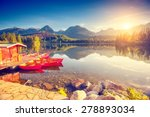 Fantastic Mountain Lake In...