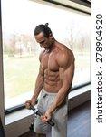 muscular mature man bodybuilder ... | Shutterstock . vector #278904920