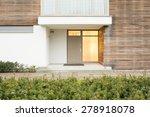 photo of front door in up to... | Shutterstock . vector #278918078