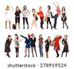 united colleagues teamwork... | Shutterstock . vector #278919524
