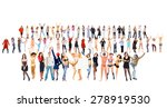 business idea workforce concept  | Shutterstock . vector #278919530