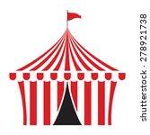 circus tent vector illustration | Shutterstock .eps vector #278921738