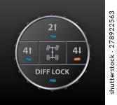 digital off road differential... | Shutterstock .eps vector #278922563