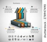 vector illustration of business ... | Shutterstock .eps vector #278947490