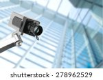 Security Cctv Camera In Office...