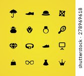 accessories icons universal set ... | Shutterstock . vector #278969618