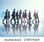 business people commuter...   Shutterstock . vector #278975429