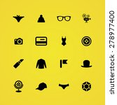 accessories icons universal set ... | Shutterstock . vector #278977400