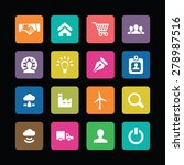 b2b icons universal set for web ... | Shutterstock . vector #278987516