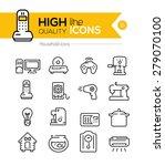 household icons line series | Shutterstock .eps vector #279070100