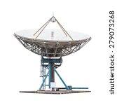 satellite dish antenna radar... | Shutterstock . vector #279073268