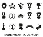 black award icons set | Shutterstock .eps vector #279076904