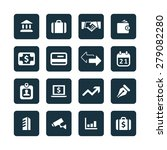 bank icons universal set for... | Shutterstock . vector #279082280