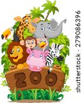 Illustration Collection Of Zoo...