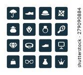 accessories icons universal set ... | Shutterstock . vector #279090884