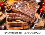 Beef Steaks With Grilled...