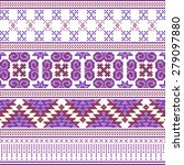fabric pattern design of... | Shutterstock .eps vector #279097880