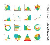 set of business marketing dot... | Shutterstock .eps vector #279134423