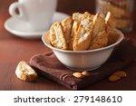 traditional italian cantuccini... | Shutterstock . vector #279148610