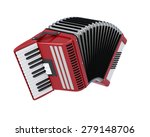 accordian isolated on white... | Shutterstock . vector #279148706