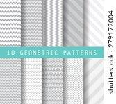 10 different business patterns. ... | Shutterstock .eps vector #279172004