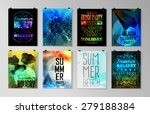 set of poster  flyer  brochure... | Shutterstock .eps vector #279188384