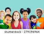 diversity children friendship...   Shutterstock . vector #279196964