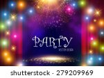Colorful Light Party Background....