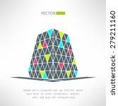 vector puzzle building in... | Shutterstock .eps vector #279211160