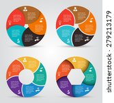 vector circle elements set for... | Shutterstock .eps vector #279213179