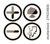 social network design over... | Shutterstock .eps vector #279225830