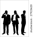 young businessman using a...   Shutterstock .eps vector #27923620