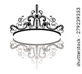 diadem. elegance feminine tiara ...   Shutterstock .eps vector #279239333