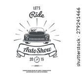 Lets Ride. Retro Car Auto Show. ...