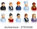 a set of icons representing... | Shutterstock .eps vector #27924268