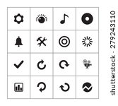 audio icons universal set for... | Shutterstock . vector #279243110