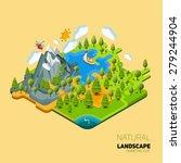 environment friendly natural... | Shutterstock .eps vector #279244904