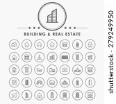 building and real estate... | Shutterstock .eps vector #279249950