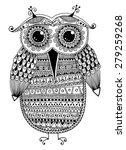 black and white original ethnic ... | Shutterstock . vector #279259268