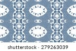 decorative ornaments blue and... | Shutterstock . vector #279263039