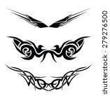 tribal designs. tribal tattoos. ... | Shutterstock .eps vector #279276500