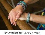 dancer arm | Shutterstock . vector #279277484