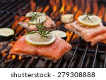 Delicious Grilled Salmon Steak...