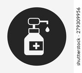 medicine bottle icon | Shutterstock .eps vector #279309956