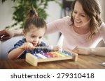 skills of my little daughter... | Shutterstock . vector #279310418