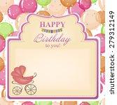 children's congratulatory...   Shutterstock .eps vector #279312149