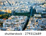 Athens Cityscape View From...