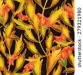 seamless tropical flower  plant ... | Shutterstock . vector #279321980