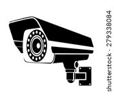 cctv icons vector | Shutterstock .eps vector #279338084