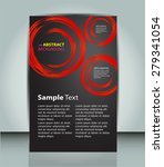 dark blue circle light abstract ...   Shutterstock .eps vector #279341054